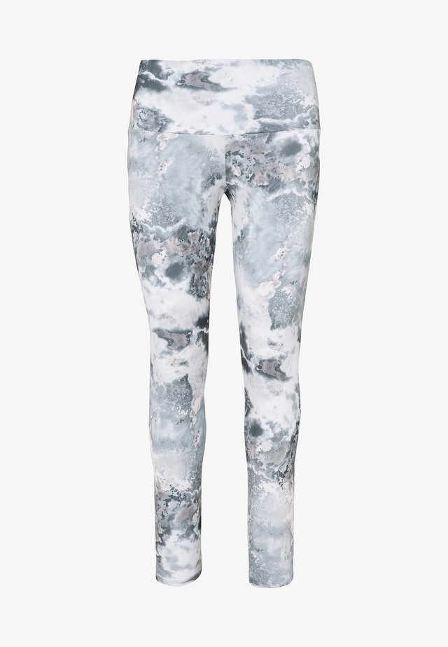 HIGH RISE LEGGING - Punčochy - dreamy marble