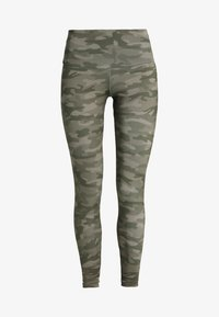Onzie - HIGH RISE LEGGING - Tights - moss camo - 4