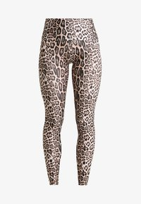 Onzie - HIGH RISE LEGGING - Medias - leopard - 5