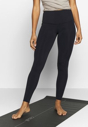 HIGH RISE LEGGING - Punčochy - black