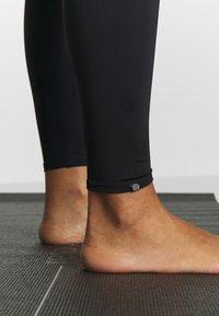 Onzie - HIGH RISE LEGGING - Tights - black - 4