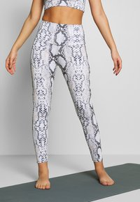 Onzie - HIGH BASIC MIDI - Legging - grey - 0