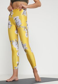 Onzie - HIGH BASIC MIDI - Legging - golden - 0
