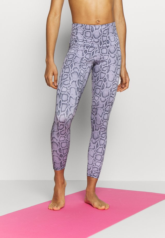 HIGH BASIC MIDI - Legginsy - lavender