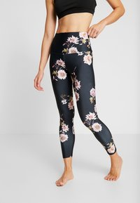 Onzie - HIGH BASIC MIDI - Legging - black - 0