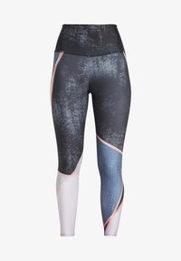 Onzie - HIGH RISE GRAPHIC MIDI - Tights - blue - 3