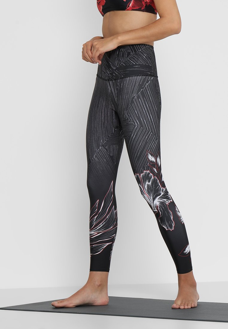 Onzie - HIGH RISE GRAPHIC MIDI - Leggings - wildflower