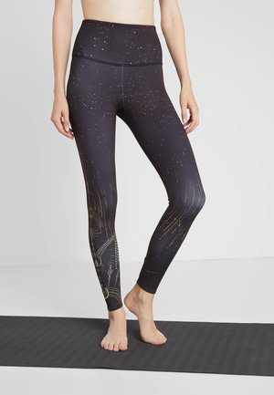 HIGH RISE GRAPHIC MIDI - Leggings - solstice