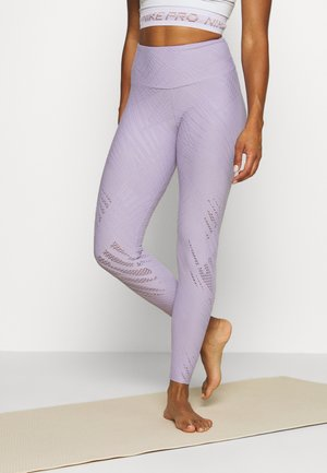 SELENITE MIDI - Legging - lavender gray