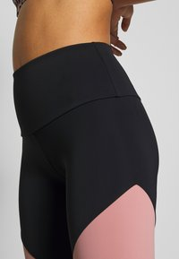 Onzie - HIGH RISE TRACK LEGGING - Tights - black/ash rose - 4