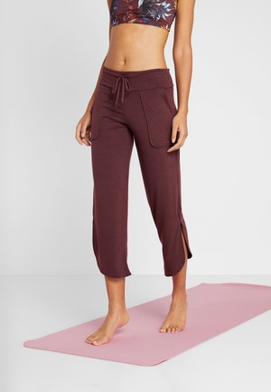 PANT - Pantalones deportivos - burgundy