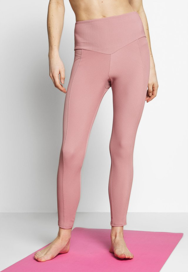 SWEETHEART MIDI - Leggings - antique rose