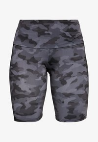 Onzie - HIGH RISE BIKE SHORT - Leggings - black/gray - 3