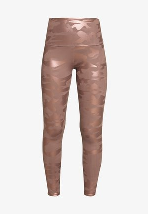 CAMO FOIL MIDI - Collants - rosegold