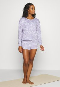 Onzie - DIVINE SHORT - Pantalón corto de deporte - lavender acid - 1