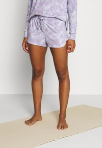 Onzie - DIVINE SHORT - Pantalón corto de deporte - lavender acid - 0