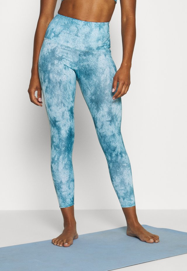 HIGH BASIC MIDI - Legginsy - water