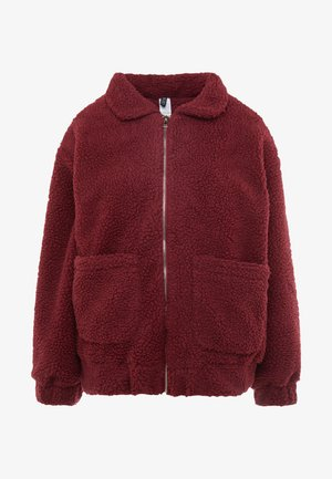 TEDDY JACKET - Outdoorjacka - burgundy