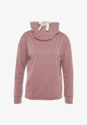 COWL NECK - Sweatshirt - mauve