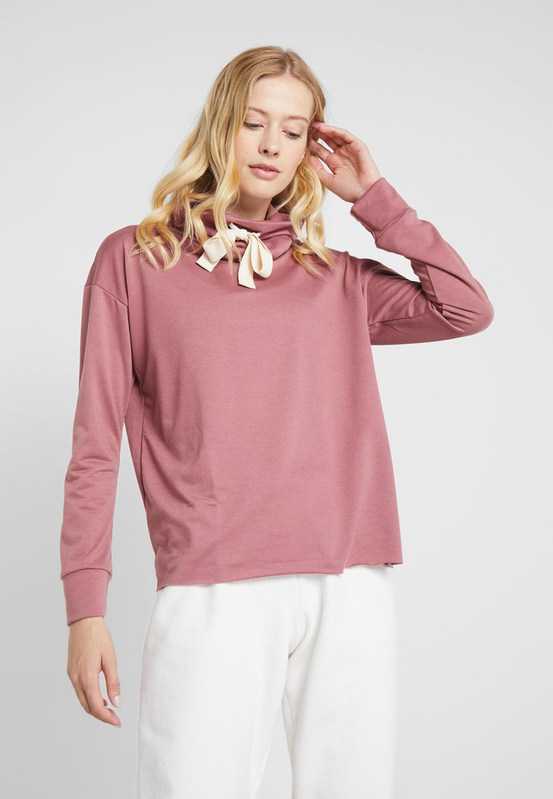 Onzie - COWL NECK - Sweatshirt - mauve