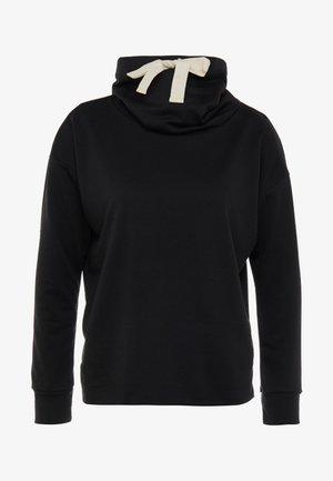 COWL NECK - Sweater - black
