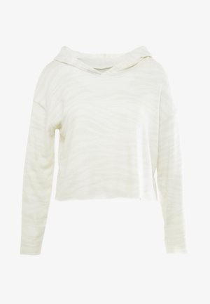 WEEKEND CROP HOODIE - Sweat à capuche - offwhite