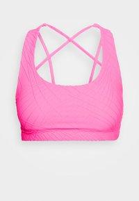 Onzie - MUDRA BRA - Sujetador deportivo - neon pink selenite - 3