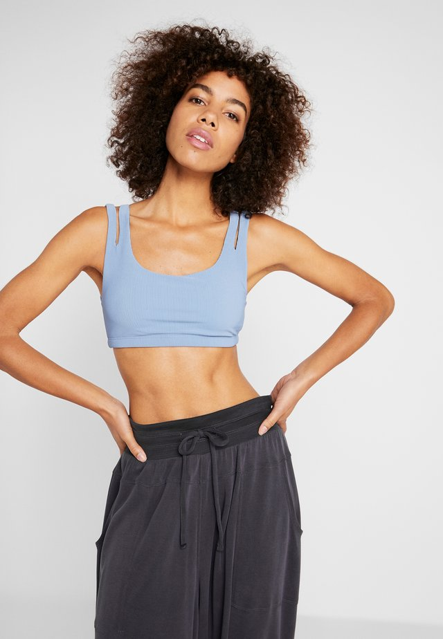 SLASH BRA - Sports bra - blue