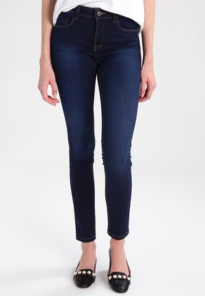 ULTIMATE - Jeansy Slim Fit - dark blue denim