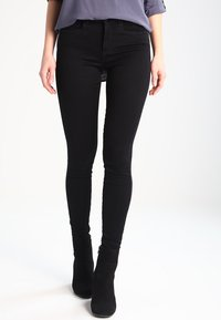 ONLY - ROYAL - Skinny džíny - black - 0
