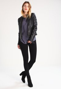 ONLY - ROYAL - Jeans Skinny Fit - black - 1