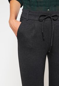 ONLY - ONLPOPTRASH EASY COLOUR  - Tracksuit bottoms - dark grey melange
