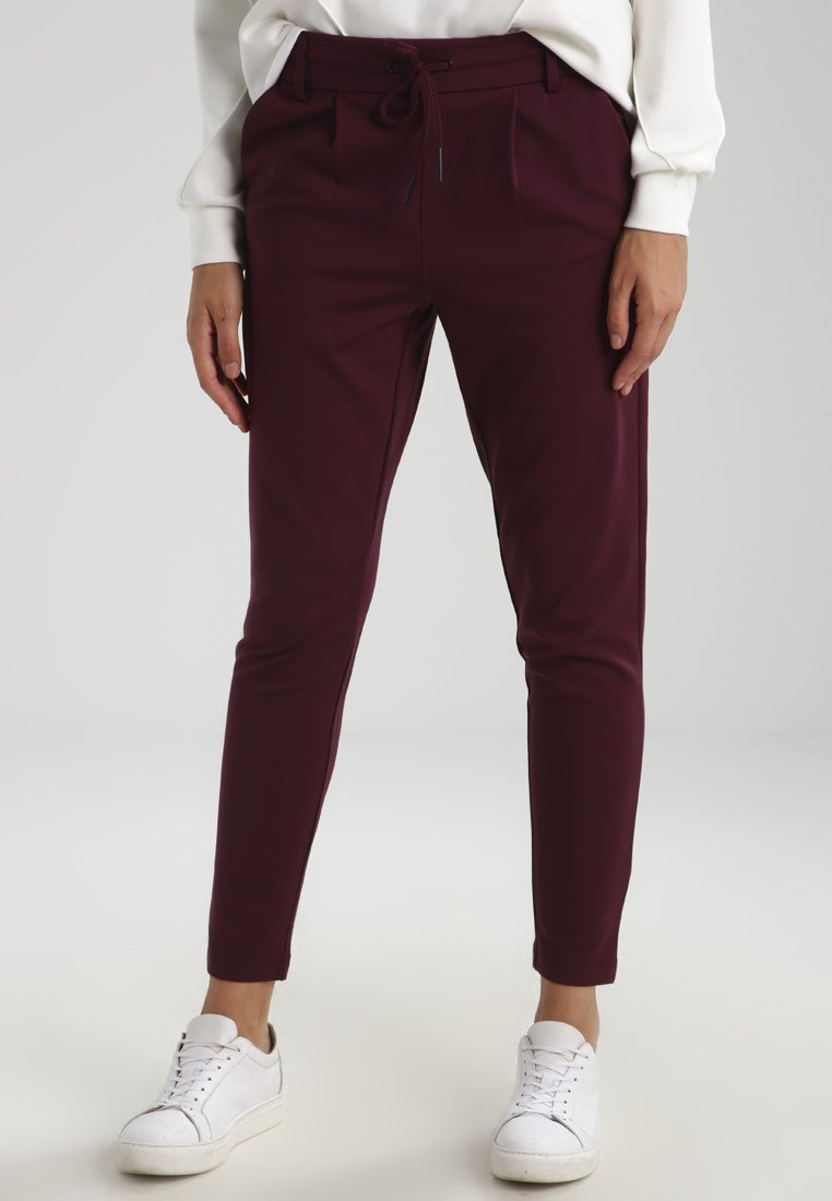 ONLY - Spodnie materiałowe - port royale