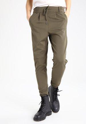ONLPOPTRASH EASY COLOUR  - Spodnie treningowe - kalamata