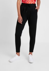 ONLY - ONLPOPTRASH EASY COLOUR  - Joggebukse - black - 0