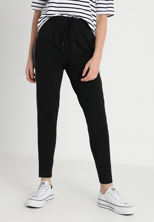 ONLPOPTRASH PIPING PANT - Tracksuit bottoms - black