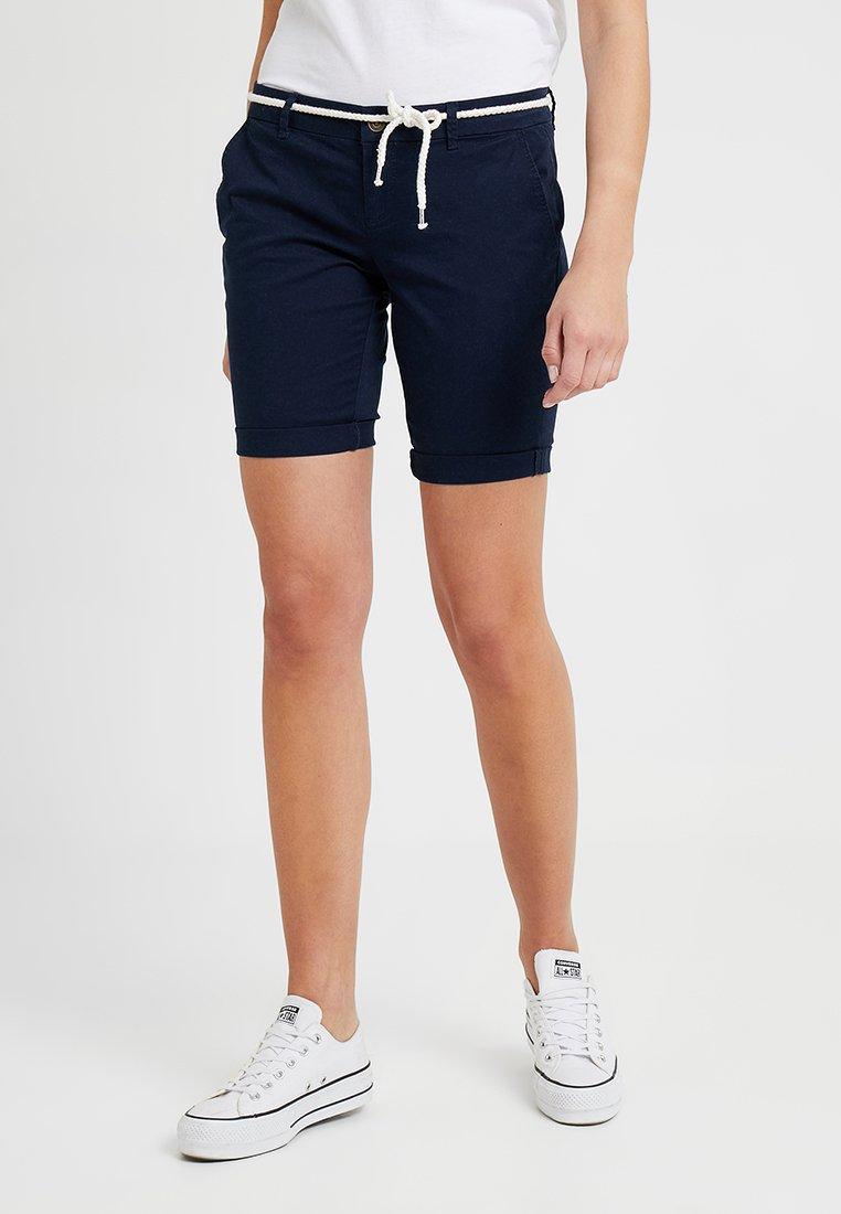 ONLY - ONLPARIS BELT - Shorts - navy blazer