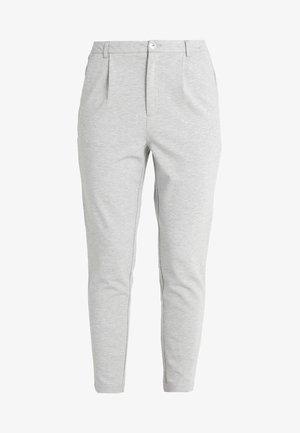 ONLPOPTRASH TAILORED PANT - Spodnie materiałowe - light grey melange