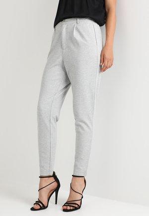 ONLPOPTRASH TAILORED PANT - Pantalones - light grey melange