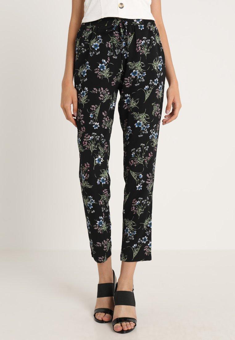 ONLY - ONLNOVA LUX PANT  - Pantalones - black/nantong