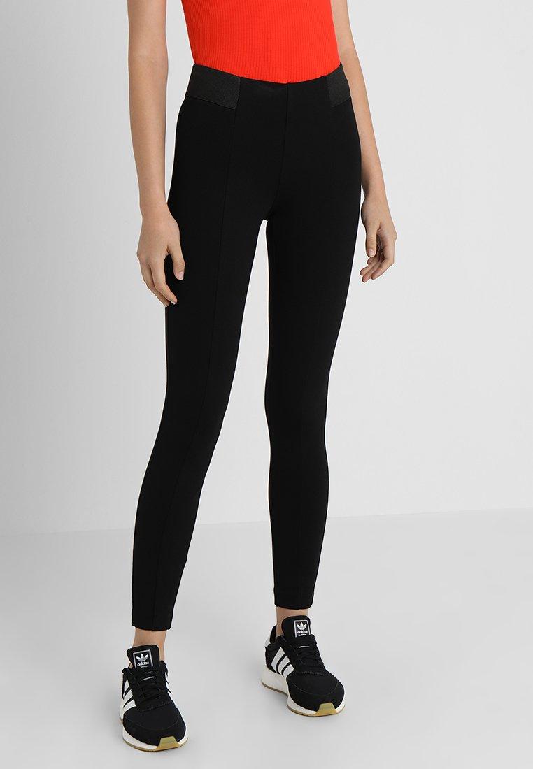 ONLY - ONLTIA BOX - Leggings - Trousers - black