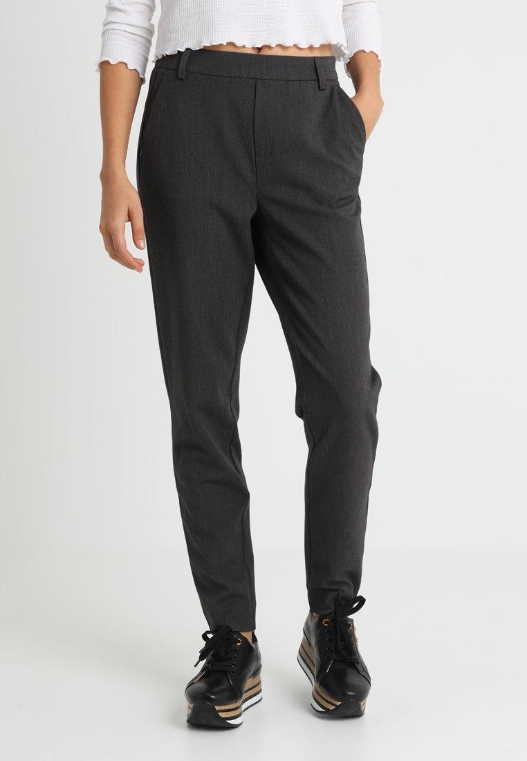ONLY - ONLCOOL ANKLE PANT - Stoffhose - dark grey melange