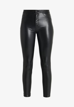 ONLCRUSH HIGH WAIST ANKLE PANT  - Trousers - black