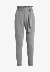 ONLY - ONLPOPTRASH EASY X PAPERBACK PANT - Pantaloni - medium grey melange - 3