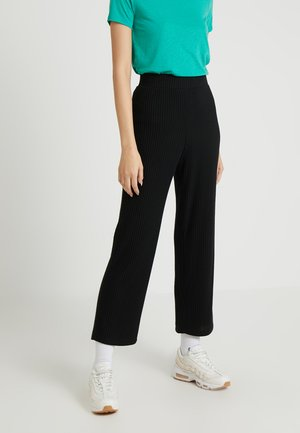 ONLBANK PANT - Trousers - black