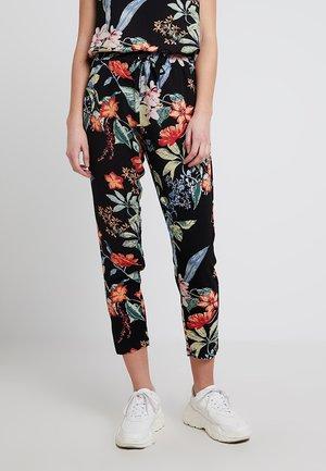 ONLNOVA LUX PANT - Trousers - black