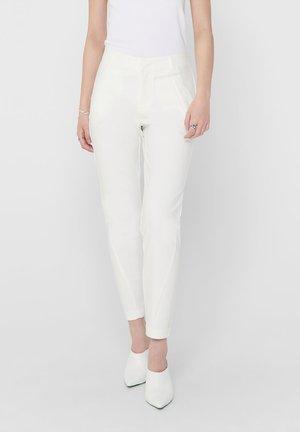 ONLSTRIKE  - Trousers - snow white