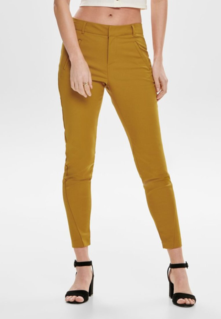 ONLY - ONLSTRIKE ANKLE PANT - Trousers - cathay spice