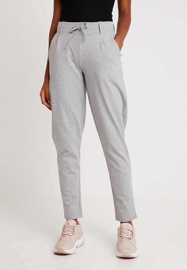 ONLY - ONLTRINE PANTS - Teplákové kalhoty - medium grey melange