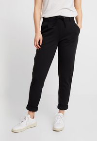 ONLY - ONLTRINE PANTS - Tracksuit bottoms - black - 0